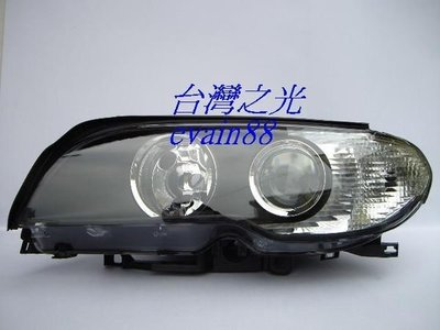 《※台灣之光※》全新BMW 03 04 05 06年E46小改款318CI 320CI 325CI黑框魚眼大燈CI 彰化縣