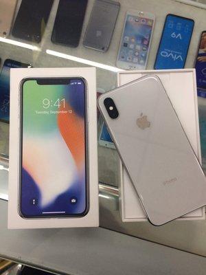 摩曼星創☆二手 蘋果 APPLE IPHONE X 256GB 黑白 中古機 2手機 9成新 可搭配分期 申辦門號