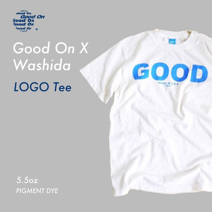 WaShiDa【541P-019】Good On X Washida 限定款 LOGO TEE