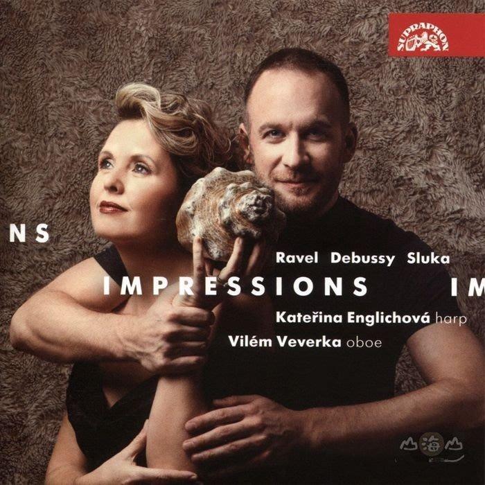 印象 - 豎琴及雙簧管音樂  / 卡提琳娜·恩格莉哈娃 豎琴 威倫.維沃卡 雙簧管---SU42122