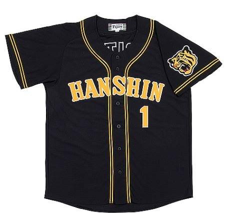 【日職嚴選】*預購*日本職棒阪神虎 客場 黑色 球迷版 棒球衣 可自選球員