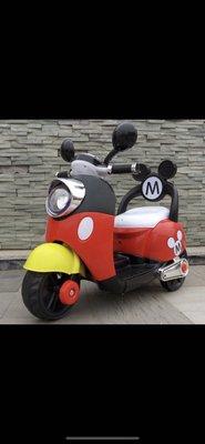 米奇兒童車改雙馬達升級大容量電瓶