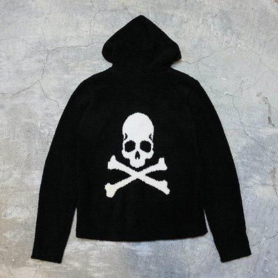 【車庫服飾】MASTERMIND JAPAN MMJ X BAREFOOT DREAMS 毛巾布骷髏連帽外套
