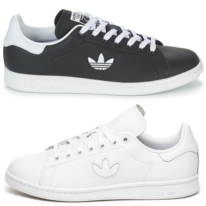 Washoes adidas Stan Smith 黑 BD7452 白 BD7451 基本款 皮革 休閒鞋 男女鞋03
