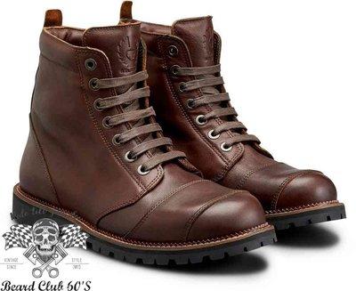 ♛大鬍子俱樂部♛ Belstaff ® Resolve Boot 英國 復古 牛皮 哈雷 重機 防水 防摔 車靴