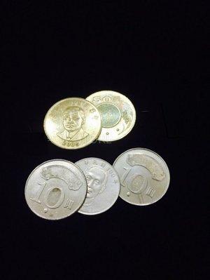【天天魔法】【S448】正宗原廠~硬幣飛渡(台幣版)~ Hopping ~經典硬幣道具~強力推薦!!!