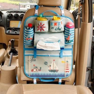 【車載收納袋-普通版/IPAD升級版-多款可選-1款/組】車用座椅椅背掛袋收納袋置物袋-527004