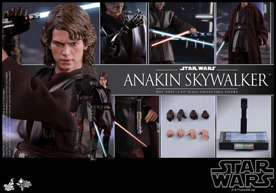 Hottoys Star Wars mms437 anakin skywalk 膠袋未開