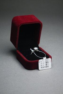 悅年堂 --- 18K金 莫桑鑽戒指 ...