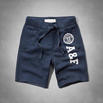 A&F Sweat Fleece Short 短棉褲(S) Abercrombie & Fitch Hollister