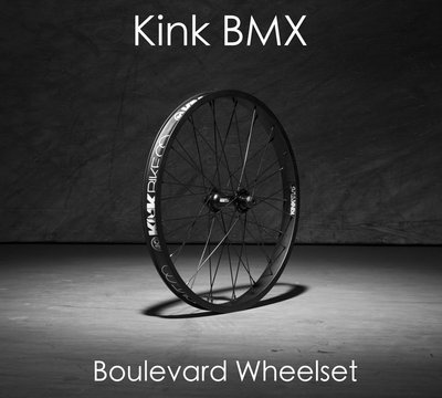 [Spun Shop] Kink BMX Boulevard Front Wheelset 內鎖式前輪組
