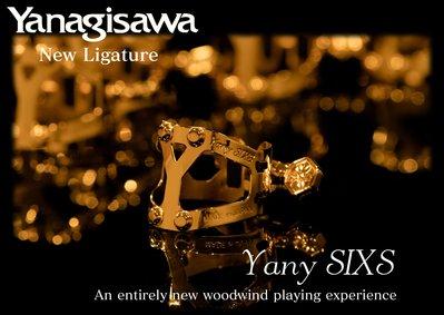 §唐川音樂§【Yanagisawa 柳澤 Yany SIXS 束圈 Alto & Bb Clarinet 適用】日本製