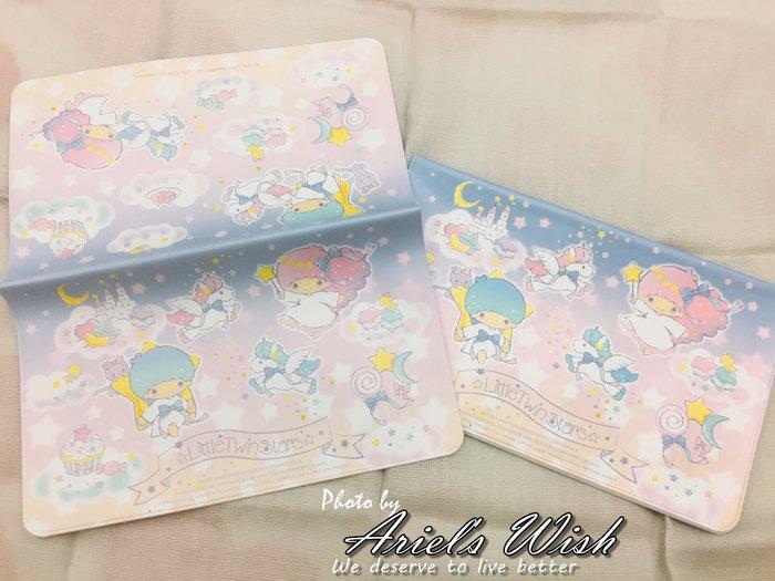 Ariel's Wish-日本SANRIO三麗鷗限定kikilala 雙子星健保卡證件套存簿套存摺套提款卡套護照套-現貨