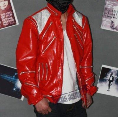 麥可傑克森, Michael Jackson~經典beat it 紅外套