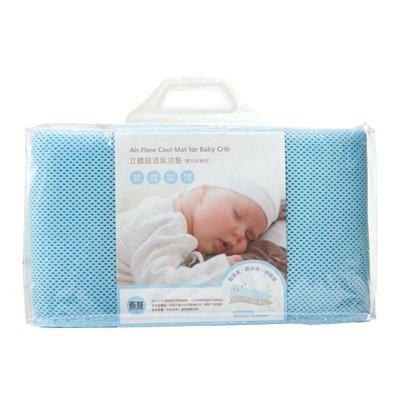 【紫貝殼】奇哥 立體超透氣涼墊(嬰兒床專用)