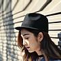 義大利設計春秋潮禮帽 時尚個性女生馬術帽 羊毛呢平沿爵士頂嘻哈帽
