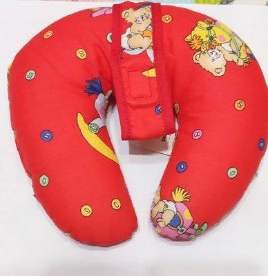 二手商品~美國 leach 嬰兒護頸枕(可掛安撫奶嘴)~九成五新!!