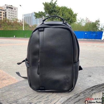 美國大媽代購COACH 蔻馳 91236經典C紋 CLOGO 雙肩包 後背包 電腦包 款式 3美國代購