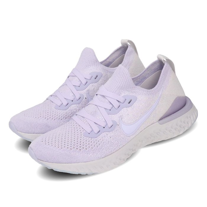 =CodE= NIKE W EPIC REACT FLYKNIT 2 編織襪套慢跑鞋(粉紫) BQ8927-501 女