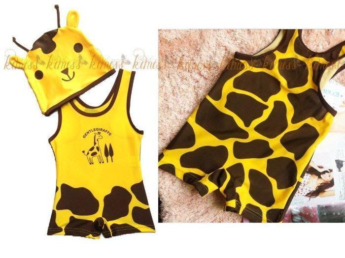 兒童泳衣 可愛動物造型連身泳衣 kimiss【CP035】