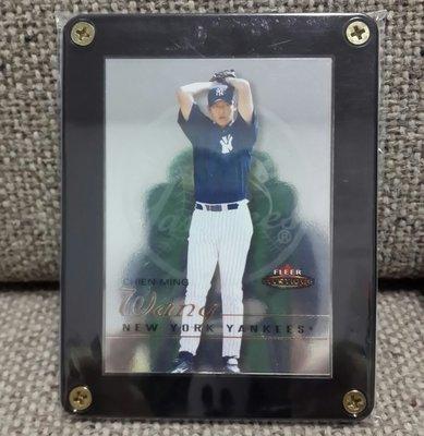 2003 王建名紐約洋基隊限量545/699棒球卡Chien-Ming Wang