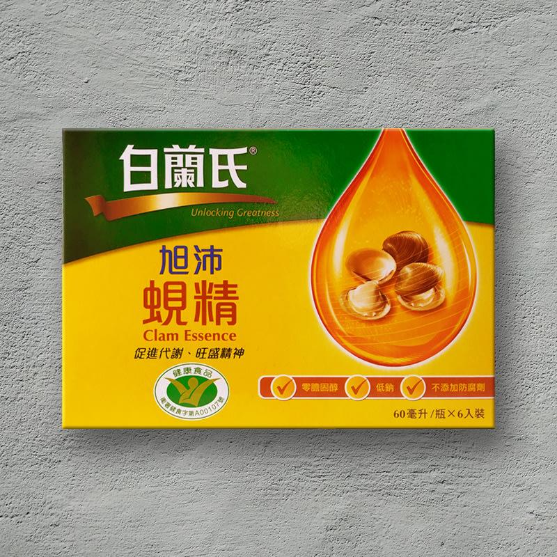 白蘭氏 旭沛蜆精 60ml (6入/盒)