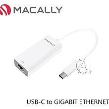 【A Shop傑創】MACALLY USB-C to GIGABIT ETHERNET