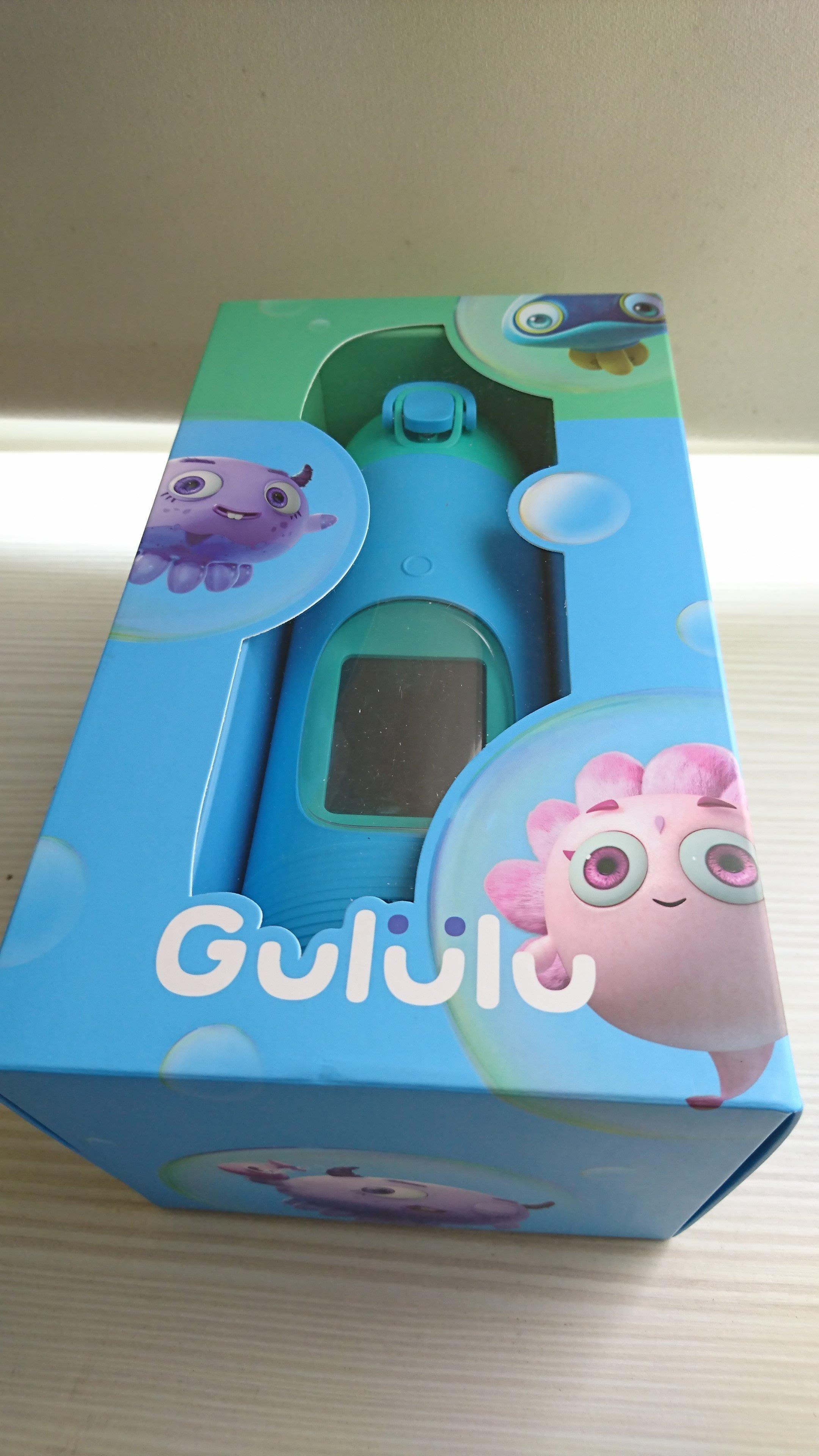 Gululu 水精靈 兒童智能水壺 Talk版 第二代 彈跳杯蓋 巨鯨藍 全新 現貨