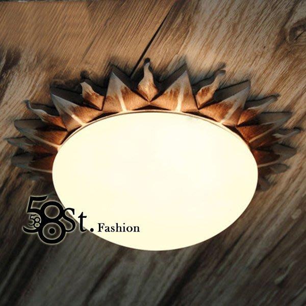 【58街】設計師款式「太陽光芒吸頂燈_小款」複刻版。GZ-195