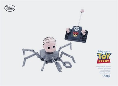 ArtLife @ TOY STORY BABYFACE RC 稀有 經典絕版 搖控 玩具總動員