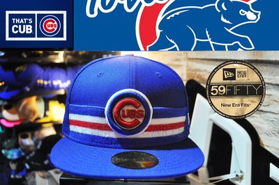 New Era x MLB Chicago Cubs Royal Blue 59fifty 美國職棒芝加哥小熊寶藍全封帽