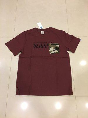 全新正品 SQUAD Pocket tee 迷彩口袋短袖t恤 Sz:L 特價500