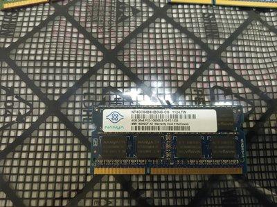 南亞4GB/ 4G DDR3-1333 1.5V So-Dimm 筆記型非終身保固 新竹市