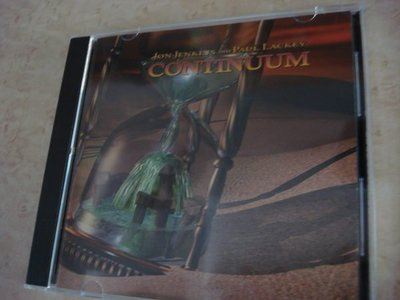 [阿慜歌的音樂小舖]二手CD{Jon Jenkins and Paul Lackey}---Continuum///**近如新**美國版**