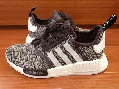 【H-Sneaker】全新 ADIDAS NMD R1 W GLITCH 黑灰 編織 運動 慢跑鞋 女鞋 BY3035
