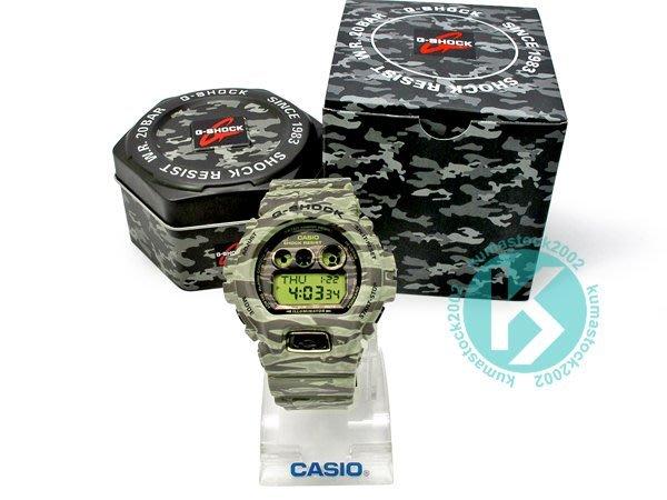 CASIO G-SHOCK GD-X6900TC-5DR TIGER CAMO 沙漠 棕綠色 虎紋 迷彩 透明液晶