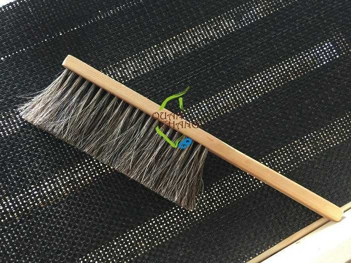 【光合作用】QC館 檜木馬毛刷(短柄) 100%台灣製造 純手工製作 採用天然動物毛或植物毛 流傳傳統手工藝,感恩愛地球