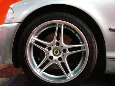 ~三重長鑫車業~BMW 御用 亮銀 正 RACING DYNAMICS RD-II 18吋 5孔 120 ET19/24 E34 E39 E60 E38