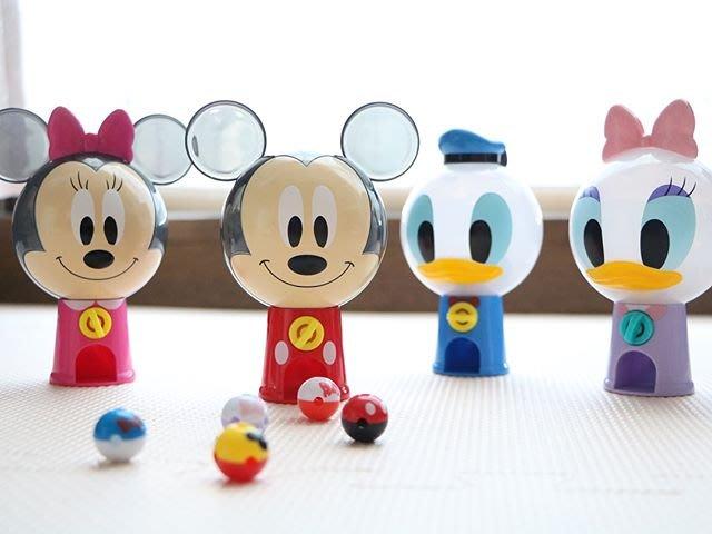 新奇玩具☆現貨 BANDAI 迪士尼 迷你轉蛋機 扭蛋機 米奇 米妮 唐老鴨 黛西 一套4款 約13公分