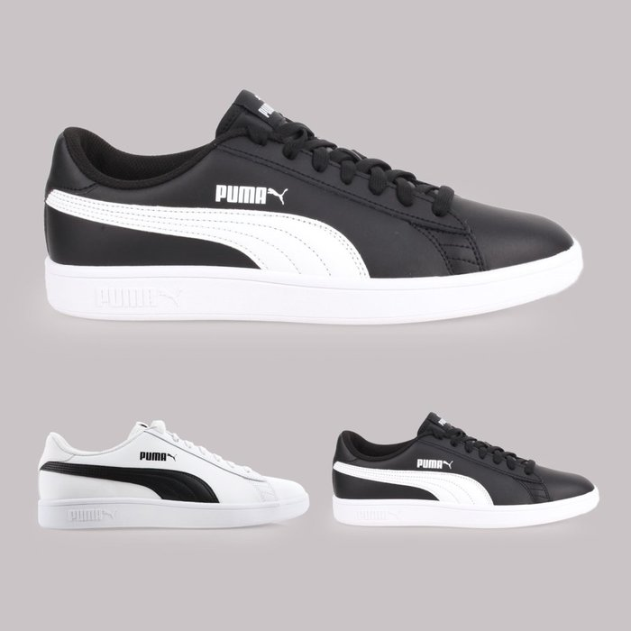 PUMA Smash v2 L 男休閒運動鞋(免運 慢跑 路跑【02016992】≡排汗專家≡