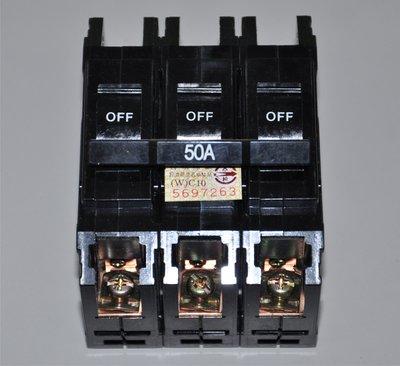 【小企鵝生活館】Panasonic國際牌無熔絲開關3P50A 10KA BAK-60型 BBT3501 無熔絲斷路器