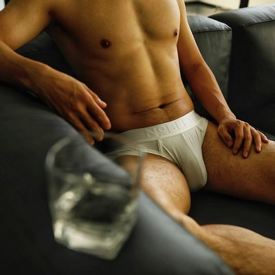 LIN韓國**【NOBLEST】【SIR】內褲男三角褲U凸囊袋性感青年個性潮莫代爾男