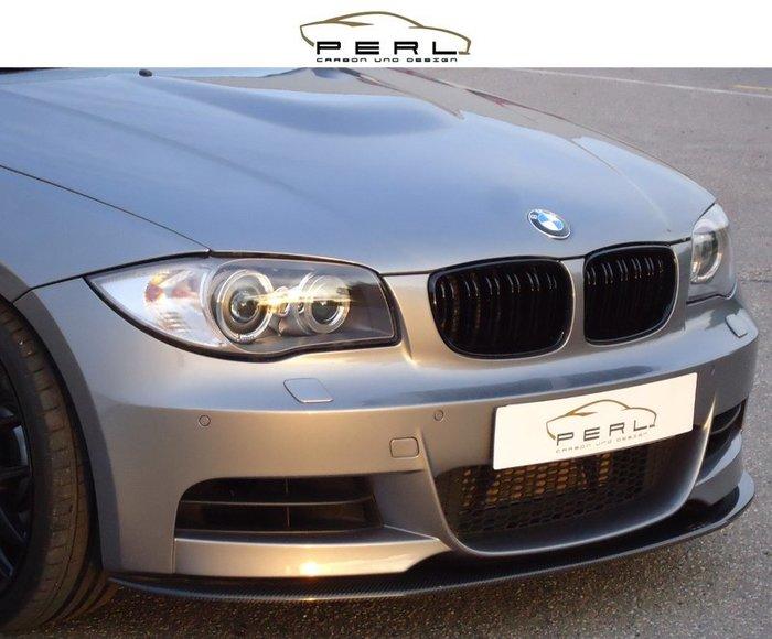 【樂駒】Perl Carbon Design BMW 1er E82 88 M-Paket 碳纖維 前下擾流 前下巴