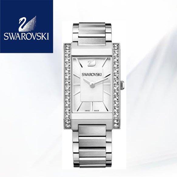 SWAROVSKI 施華洛世奇 水晶鑽 天使之眼超氣質方形 石英錶/手錶 1094371 【現貨免運】↗小夫妻精品嚴選↖