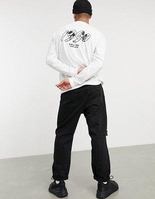 代購Carhartt WIP x Relevant Parties Ninja Tune 聯名款休閒長袖T恤XS-XL