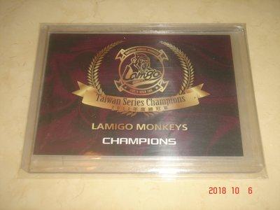 中華職棒 Lamigo桃猿隊  2012 職棒23年 年度總冠軍 球員卡