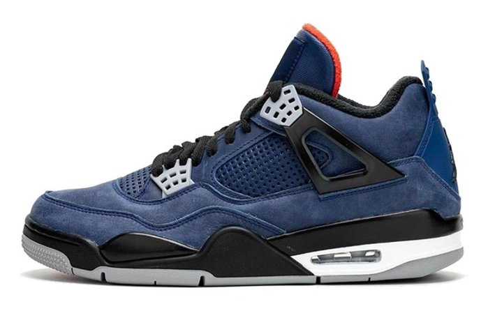 "GOSPEL【Air Jordan 4 WNTR ""Loyal Blue""】藍橘 CQ9597-401"