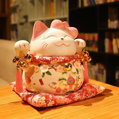 存錢罐三十而已同款招財貓擺件開業大號日本存錢儲蓄罐店鋪家居創意禮品