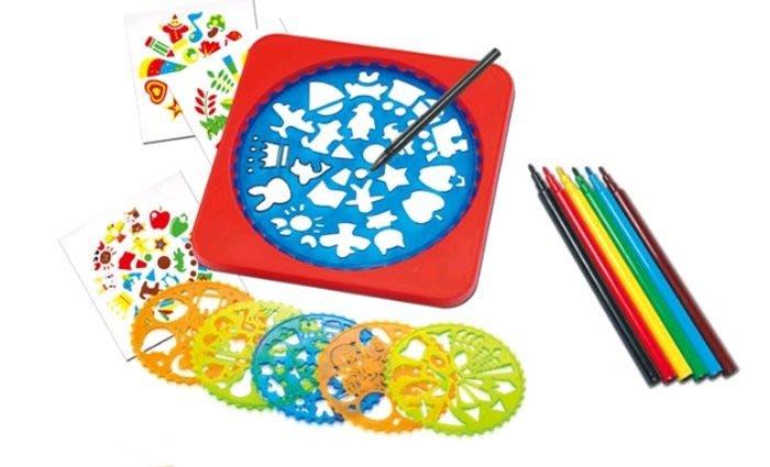 【阿LIN】90022A YM3113 螺旋繪畫工具 模型 筆 繪圖 模板 DIY 美圖 美工 描圖 工具 繪畫
