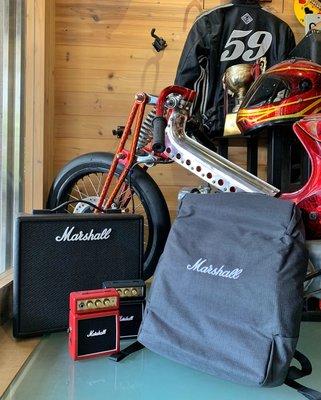 【名人樂器】Marshall City Rocker 時尚 多功能 後背包 電腦包 二色
